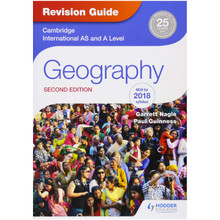 Hodder Cambridge International AS and A Level Geography Revision Guide (2nd Edition) - ISBN 9781510418387