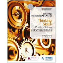 Hodder Cambridge International AS & A Level Thinking Skills - Problem Solving and Critical Thinking - ISBN 9781510421899