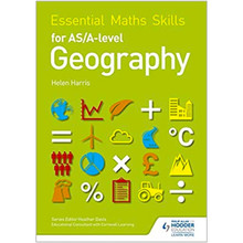 Hodder Essential Maths Skills for AS and A Level Geography Resource Book - ISBN 9781471863554