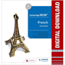 Hodder Cambridge IGCSE™ French Online Teacher Guide with Audio (3rd Edition) - ISBN 9781510447776