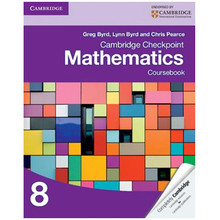 Cambridge Checkpoint Mathematics Coursebook 8 - ISBN 9781107697874