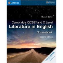 Cambridge IGCSE and O Level Literature in English Coursebook - ISBN 9781108439916