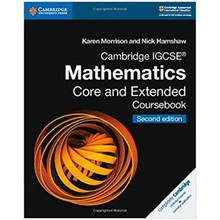 Cambridge IGCSE Mathematics Coursebook Core and Extended - ISBN 9781108437189