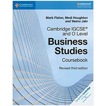 Cambridge IGCSE and O Level Business Studies Coursebook with CD-ROM - ISBN 9781108563987