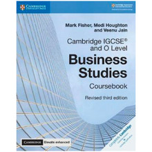 Cambridge IGCSE and O Level Business Studies Coursebook with CD-ROM and Cambridge Elevate enhanced edition (2Years) - ISBN 9781108348256