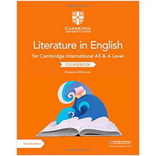 Cambridge International AS & A Level Literature in English Coursebook - ISBN 9781108457828