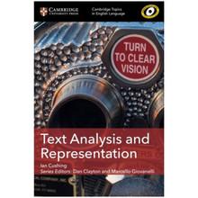 Cambridge Topics in English Language: Text Analysis and Representation - ISBN 9781108401111