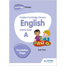 Hodder Cambridge Primary English Activity Book A Foundation Stage - ISBN 9781510457249