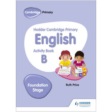 Hodder Cambridge Primary English Activity Book B Foundation Stage - ISBN 9781510457256