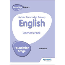 Hodder Cambridge Primary English Teacher's Pack Foundation Stage - ISBN 9781510457379