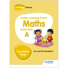 Hodder Cambridge Primary Maths Activity Book A Foundation Stage - ISBN 9781510431829