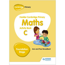 Hodder Cambridge Primary Maths Activity Book C Foundation Stage - ISBN 9781510431843