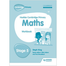 Hodder Cambridge Primary Maths: Workbook Stage 5 - ISBN 9781471884658