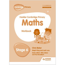 Hodder Cambridge Primary Maths: Workbook Stage 6 - ISBN 9781471884672