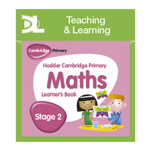 Hodder Cambridge Primary Maths Online Digital Resource Pack 2 Dynamic Learning - ISBN 9781510425958