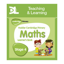 Hodder Cambridge Primary Maths Online Digital Resource Pack 4 Dynamic Learning - ISBN 9781510426009