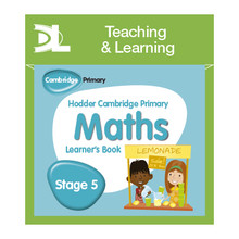 Hodder Cambridge Primary Maths Online Digital Resource Pack 5 Dynamic Learning - ISBN 9781510426030