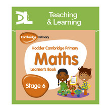Hodder Cambridge Primary Maths Online Digital Resource Pack 6 Dynamic Learning - ISBN 9781510426054