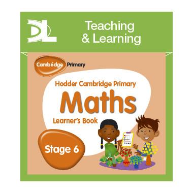 Hodder Cambridge Primary Maths Online Digital Resource Pack 6 Dynamic Learning - ISBN 9781510426054