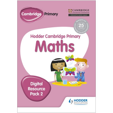 Hodder Cambridge Primary Maths CD-ROM Digital Resource Pack 2 - ISBN 9781471884702