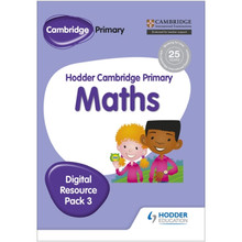 Hodder Cambridge Primary Maths CD-ROM Digital Resource Pack 3 - ISBN 9781471884719