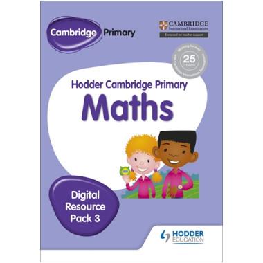 Hodder Cambridge Primary Maths CD-ROM Digital Resource Pack 3 - ISBN 9781471884719