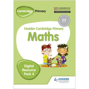 Hodder Cambridge Primary Maths CD-ROM Digital Resource Pack 4 - ISBN 9781471884726