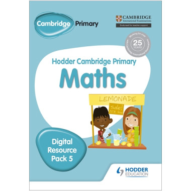 Hodder Cambridge Primary Maths CD-ROM Digital Resource Pack 5 - ISBN 9781471884733