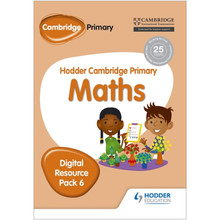 Hodder Cambridge Primary Maths CD-ROM Digital Resource Pack 6 - ISBN 9781471884740