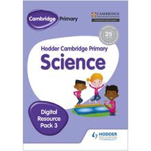 Hodder Cambridge Primary Science CD-ROM Digital Resource Pack 3 - ISBN 9781471884276