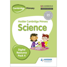 Hodder Cambridge Primary Science CD-ROM Digital Resource Pack 4 - ISBN 9781471884283