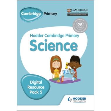 Hodder Cambridge Primary Science CD-ROM Digital Resource Pack 5 - ISBN 9781471884290