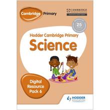 Hodder Cambridge Primary Science CD-ROM Digital Resource Pack 6 - ISBN 9781471884306