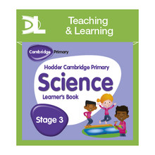 Hodder Cambridge Primary Science Online Digital Resource Pack 3 Dynamic Learning - ISBN 9781510426092
