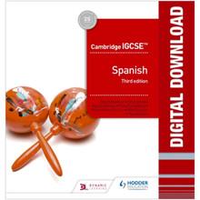 Hodder Cambridge IGCSE™ Spanish Online Teacher Guide with Audio Third Edition - ISBN 9781510448568