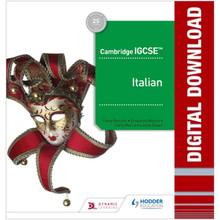 Hodder Cambridge IGCSE™ Italian Online Teacher Guide with Audio - ISBN 9781510448551