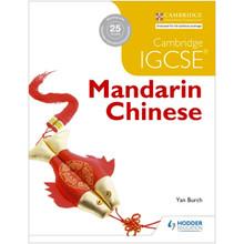 Hodder Cambridge IGCSE Mandarin Chinese Student Book - ISBN 9781471890253