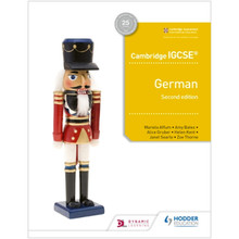 Hodder Cambridge IGCSE™ German Student Book Second Edition - ISBN 9781510447561
