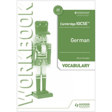 Hodder Cambridge IGCSE™ German Vocabulary Workbook - ISBN 9781510448063