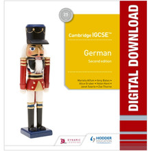 Hodder Cambridge IGCSE™ German Online Teacher Guide with Audio (2nd Edition) - ISBN 9781510448544