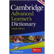 Cambridge Advanced Learner's Dictionary with CD-Rom 4th Edition - ISBN 9781107653139