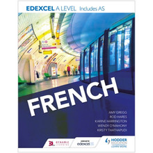 Hodder Edexcel A level French (includes AS) - ISBN 9781471858161