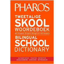 Pharos Tweetalige Skoolwoordeboek / Bilingual School Dictionary - ISBN 9781868901289