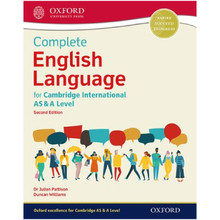 Oxford Complete English Language for Cambridge International AS & A Level Coursebook - ISBN 9780198445760