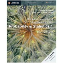 Cambridge International AS & A-Level Mathematics Probability and Statistics 1 Coursebook - ISBN 9781108407304