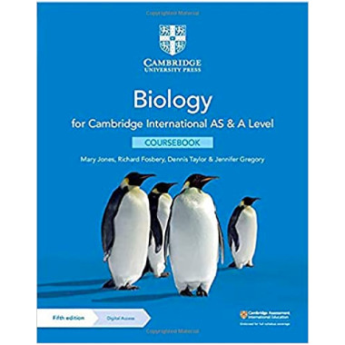 Cambridge International AS & A Level Biology Coursebook with Digital Access (2 Years) - ISBN 9781108859028
