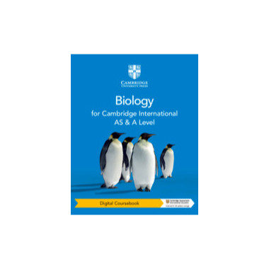 Cambridge International AS & A Level Biology Digital Coursebook (2 Years) - ISBN 9781108796514