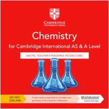 Cambridge International AS & A Level Chemistry Digital Teacher's Resource Access Card - ISBN 9781108796590