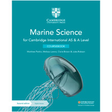 Cambridge International AS & A Level Marine Science Coursebook with Digital Access (2 Years) - ISBN 9781108866064