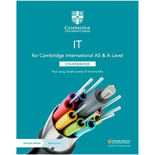 Cambridge International AS & A Level IT Coursebook with Digital Access (2 Years) - ISBN 9781108782470